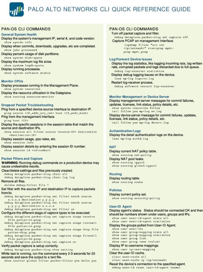 Palo_Commands